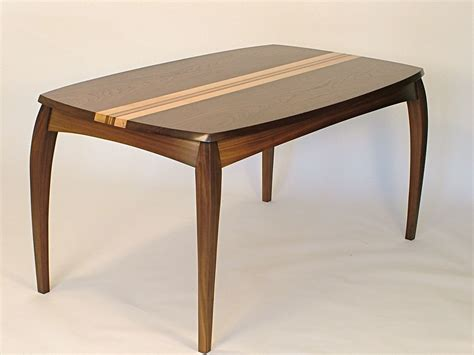 Maple Dining Tables Custom Cabrio Desk Dining Table In Walnut And Birds Eye Maple By Dharma Design Furniture