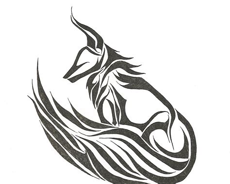 fox logo tattoo designs tribal fox by insanitysblessing on deviantart