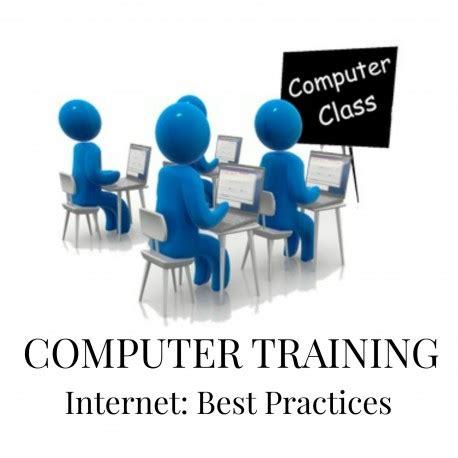 online tutorial best practices computer training internet best practices