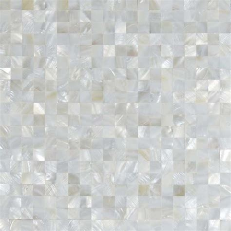 Wholesale seamless mesh mounted mother of pearl tile backsplash square white shell tiles mirror