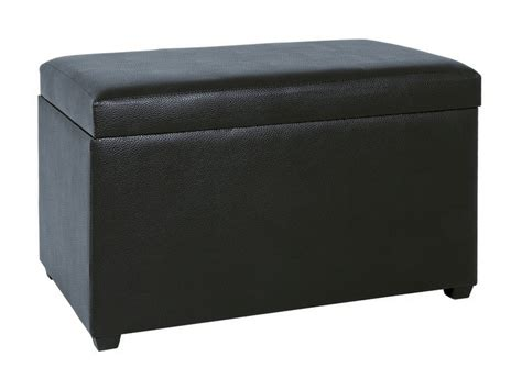 black ottoman storage bench ottoman black storage bench 30586