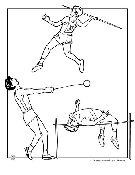 Track Coloring Pages track coloring pages