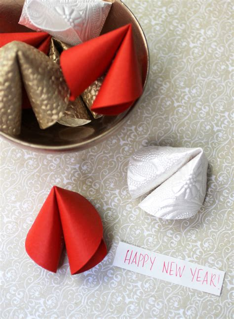 new year and fortune cookies new year diy paper fortune cookies evite
