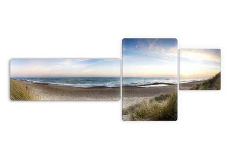 glasbilder wohnzimmer glasbild strandpanorama 3 teilig wundersch 246 ne
