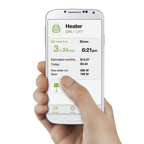 wemo insight home automation and energy monitoring