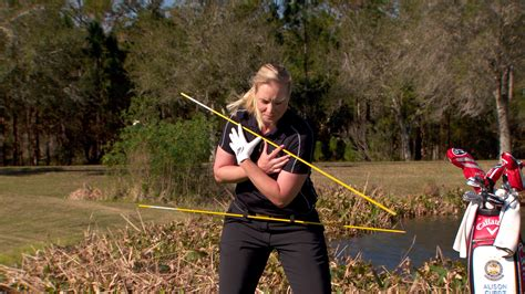 lpga swing videos how to rotate in the golf swing golf channel
