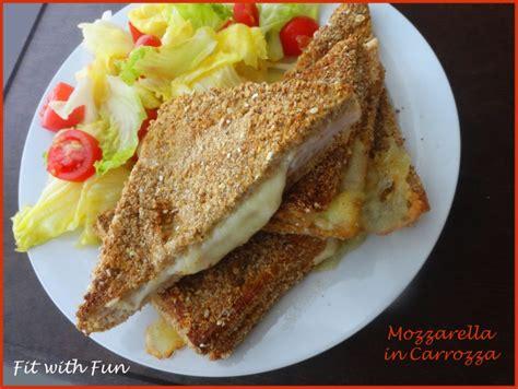 Mozzarella In Carrozza In Forno - mozzarella in carrozza light cotta al forno
