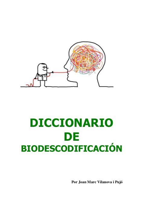 libro sonario o diccionario de diccionario biodescodificacion
