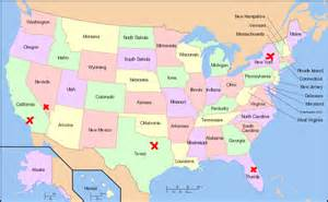 can you show me a map of the united states thefreebiedepot
