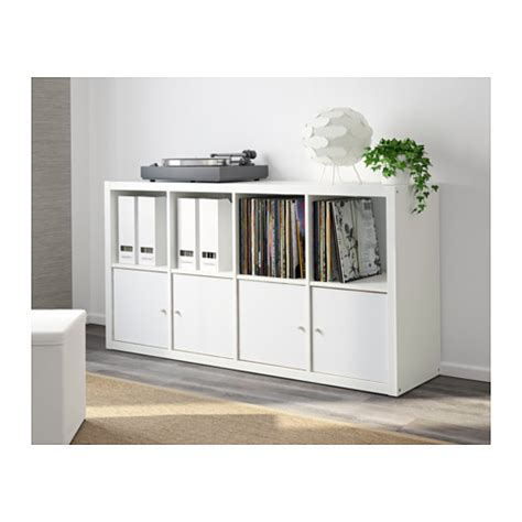 Oak Livingroom Furniture by Kallax Shelving Unit White 77x147 Cm Ikea