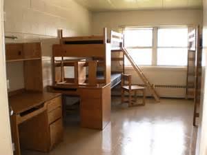 Converted triple room
