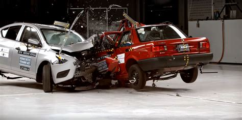 car crash test car to car crash test forces nissan to stop production of