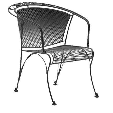 Woodard Briarwood Wrought Iron Barrel Dining Chair 400010 Briarwood Wrought Iron Patio Furniture