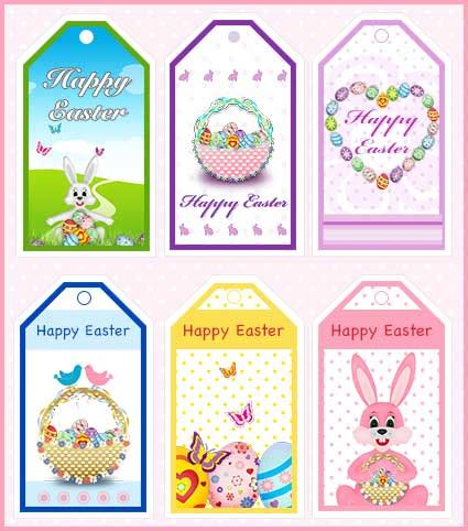 Easter Gift Cards - free printable easter gift tags my free printable cards com easter decoupage