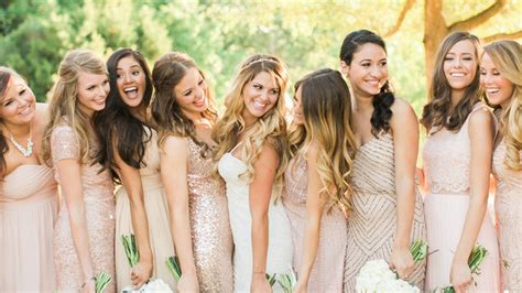 How to Do Mismatched Bridesmaid Dresses   InStyle.com