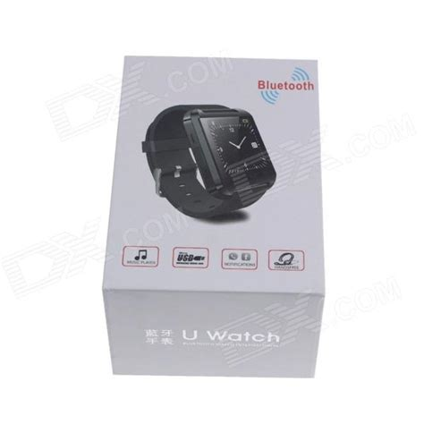 Smartwatch U8 Original Black uwatch u8 wearable 1 48 quot touch screen smart w