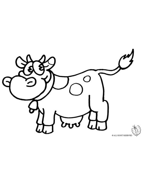 cow farm coloring page coloring page of cow farm for coloring for kids sketchue com