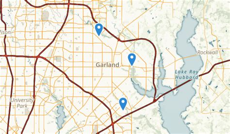 garland texas map best trails near garland texas alltrails