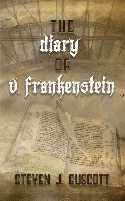 The Diary Of V Frankenstein win a ltd edition hardback of the diary of v