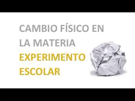 cambios 2016 en la dcn experimento cambio f 237 sico en la materia sergio y carlos