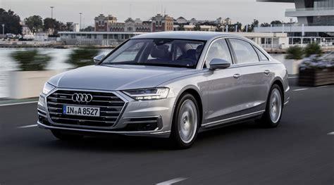 Audi Los Angeles by Audi Unveils 2019 A8 At Los Angeles Auto Show