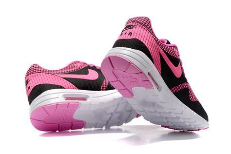 Nike Air Max 90 Flyknit Pinkblack P 1229 by Air Max Thea Flyknit Black Pink Nike New Air Max