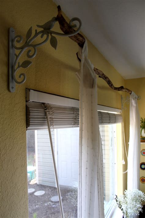 branch curtain rods tree branch curtain rod turning it home