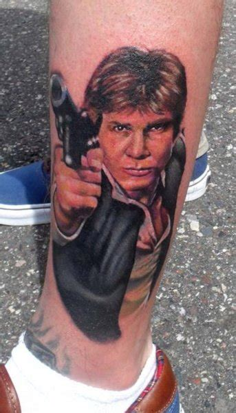 fyeahtattoos this is my han my third