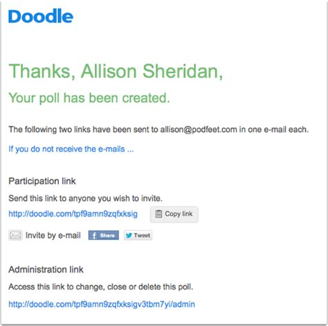 doodle poll doodle simplifies scheduling podfeet podcasts