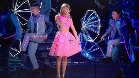 taylor swift pink dress 1989 taylor swift 1989 world tour led costumes smooth technology