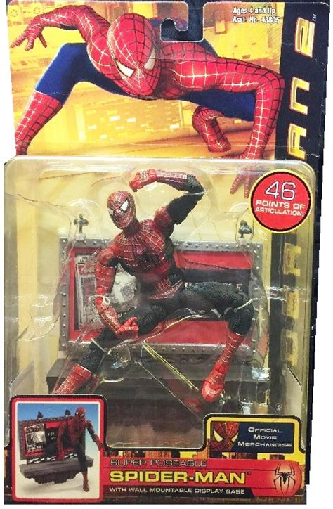 spider 2 figure spider 2 poseable spider figure