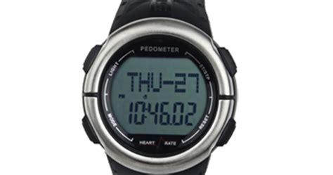Jam Tangan Pengukur Jantung jam tangan 3 in 1 alat ukur detak jantung kalori jumlah langkah kaki jarak tempuh toko