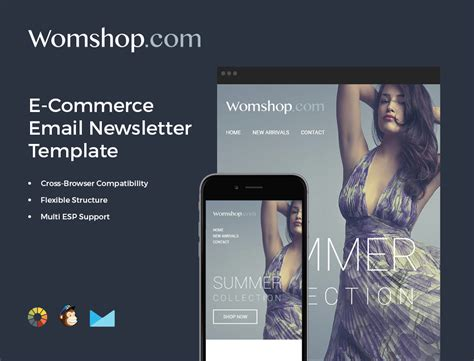 mailchimp ecommerce templates bundle of 14 email newsletter templates mailchimp