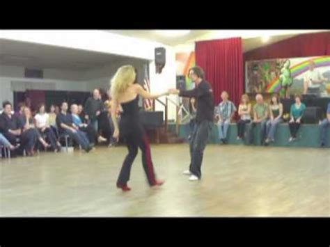 santa cruz swing dance swango dance demo by lynne topher youtube