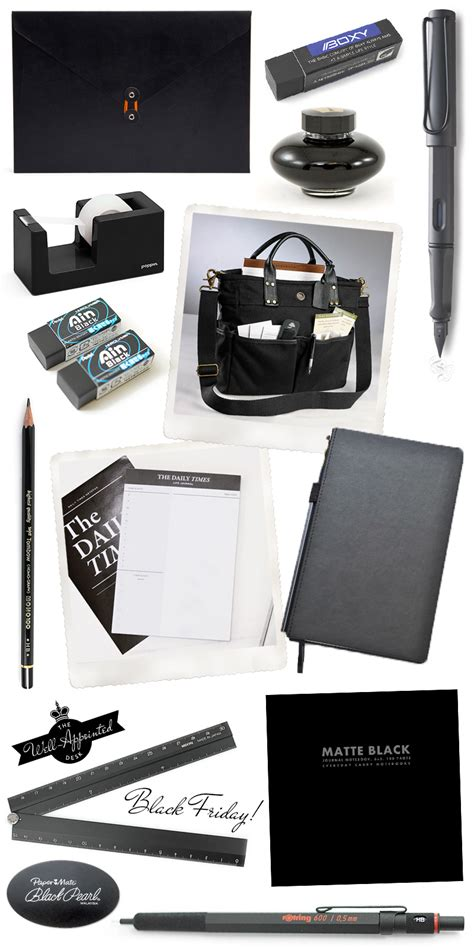 fashionable friday black friday the well appointed desk