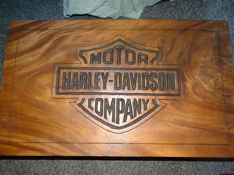Harley Davidson Table by Harley Davidson Coffee Table In Teak Made Logo