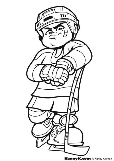 printable coloring pages hockey ice hockey coloring pages coloring home