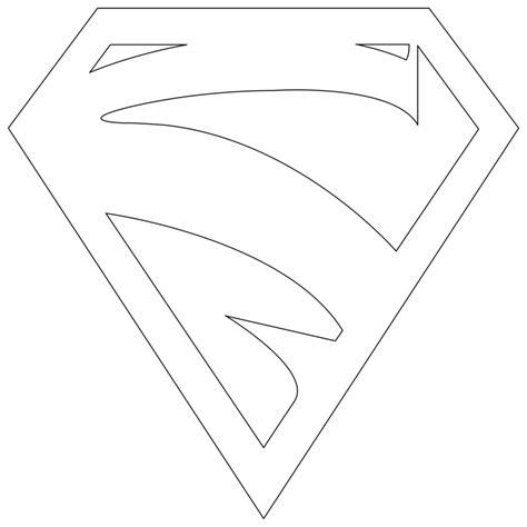 supergirl emblem template supergirl logo outline by mr droy on deviantart