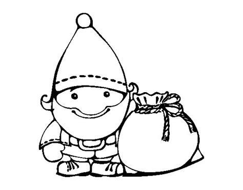 imagenes santa claus para dibujar disegno di babbo natale con il suo sacco da colorare