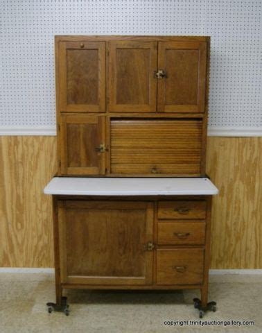 vintage hoosier kitchen cabinet antique oak hoosier kitchen cabinet look