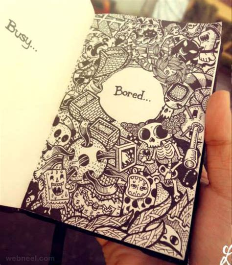 Sketches And Doodles by 25 Beautiful Doodle Works Around The World