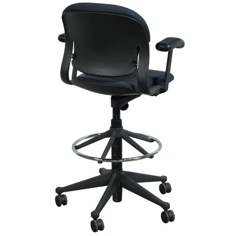 Charcoal Stool by Herman Miller Equa Used Stool Charcoal National Office