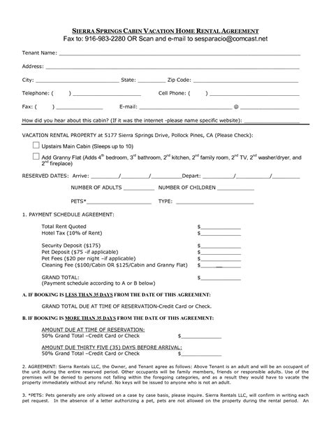 renters agreement home renters agreement free printable documents