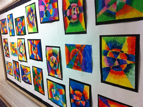 how to display art 4th grade the art of education