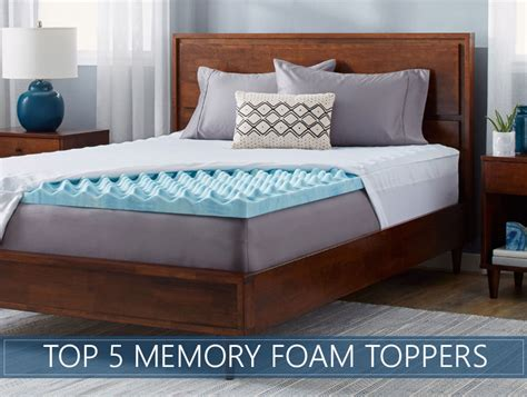bedding foam our 5 highest rated memory foam mattress topper reviews for 2018