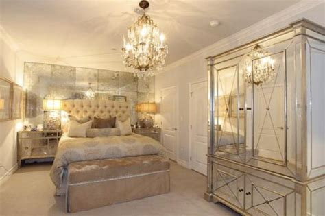 mirrored furniture bedroom ideas kim kardashian s apartment bedroom t a n y e s h a