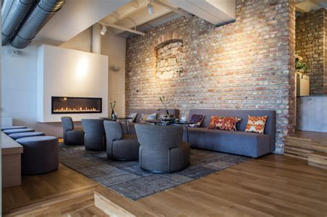 Fake Exposed Brick Wall 33 Living Room Designs With Beautiful Woodwork Throughout
