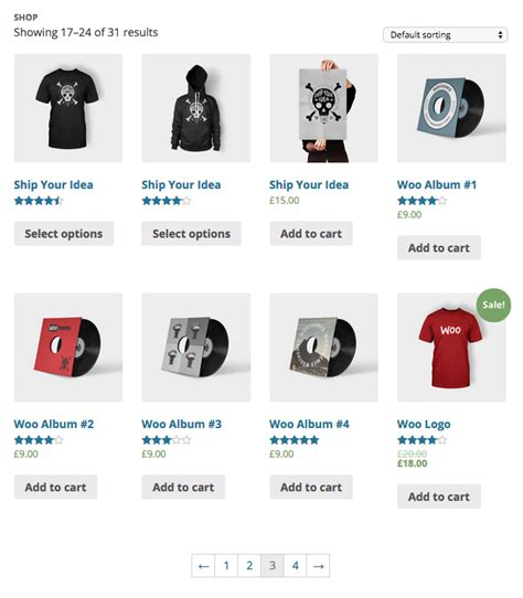 Woocommerce Wordpress Org Woocommerce Product Listing Page Template