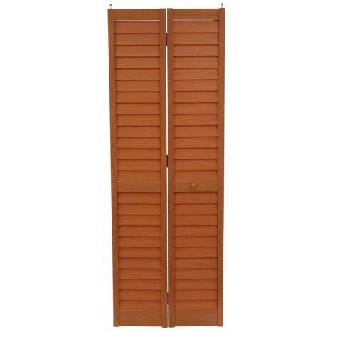 28 Inch Bifold Closet Door by Home Fashion Technologies 28 In X 80 In 3 In Louver