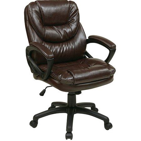 faux leather chair walmart office faux leather manager s office chair with